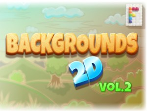 Backgrounds 2D Vol. 2
