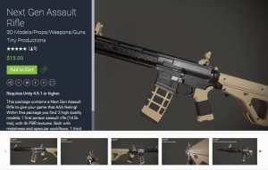Next Gen Assault Rifle for free (unityassets4free)