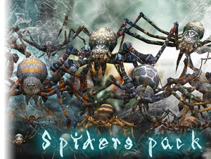 Spiders pack for free (unityassets4free)