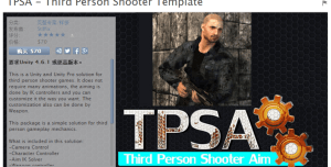 TPSA – Third Person Shooter Template