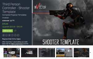 Third Person Controller Shooter Template