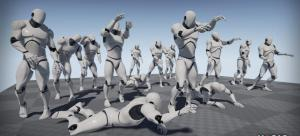 Zombie Motion Capture Animations