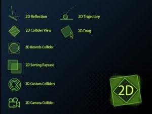 2D Physics Toolkit