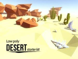 Lowpoly Desert – Starter Kit