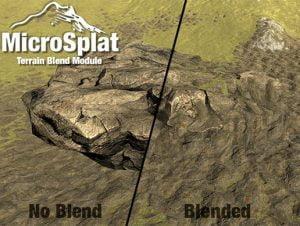 MicroSplat – Terrain Blending