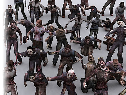 Real Zombies Characters