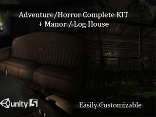 Adventure/Horror Complete Kit + Manor