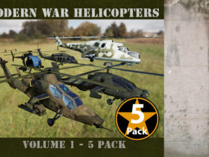 Modern War Helicopters