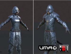 UMA Iron Armor set