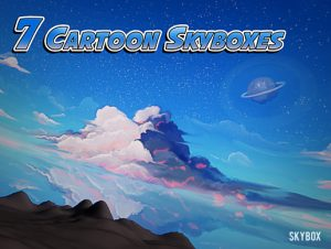 7 Painted Cartoon Skyboxes