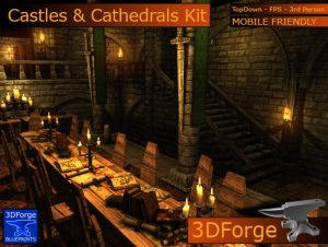 Castles Cathedrals Interiors Kit