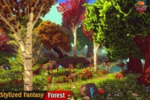 Stylized-Fantasy-Forest-Environment