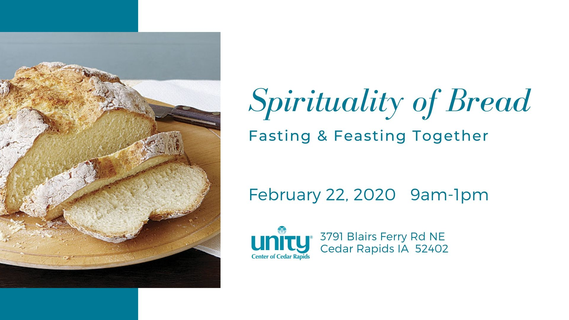 Spirituality of Bread - Fasting and Feasting Together