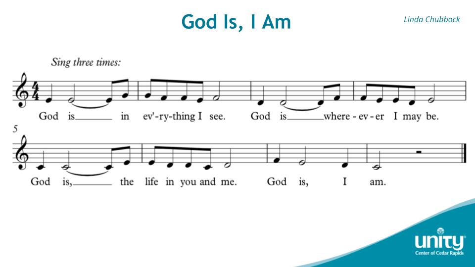 God Is, I Am