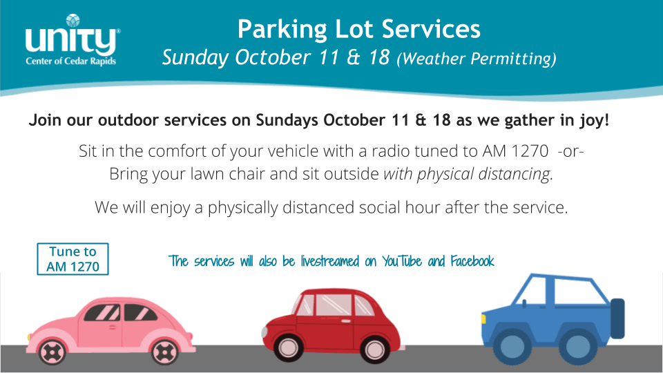 Parking Lot Service Lyrics and Order of Service