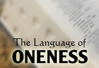 The Language of Oneness