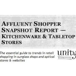 Affluent Shopper Snapshot Kitchenware & Tabletop Stores