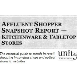 Affluent Shopper Snapshot Kitchenware & Tabletop Stores
