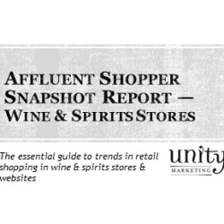 Affluent Shopper Snapshot Wine & Spirits Stores
