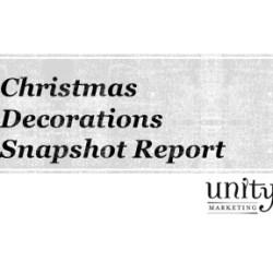 Christmas Decorations Snapshot Report
