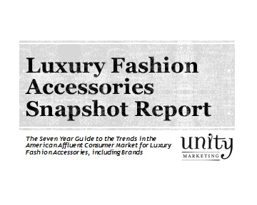 7cbc4596ce2 Fashion Accessories Snapshot Report: The Seven Year Guide to the Trends in  the American Affluent Consumer Market for Fashion Accessories, including  Brands