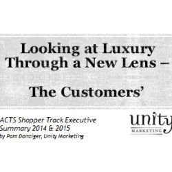 Looking at Luxury Through a New Lens -- The Customers