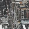 Aerial shot of Manhattan and Macy's