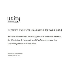 Fashion Snapshot including Clothing & Fashion Accessories