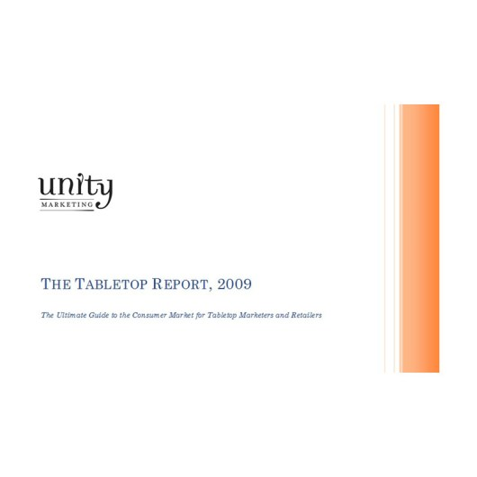 tabletop report 2009