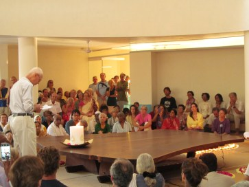 The Hall of Peace was inaugurated and the Peace Table shifted there on 11 February 2014