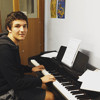Matthew (Keyboard Student)