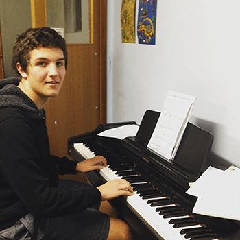 Matthew (Keyboard Student)