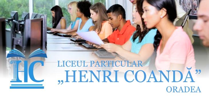 """Liceul Particular """"Henri Coandă"""" Oradea"""