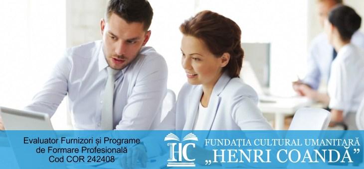 Evaluator Furnizor și Programe de Formare Profesională