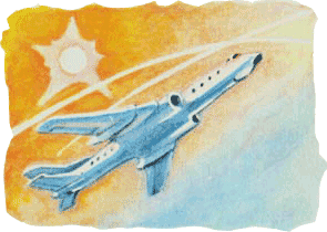 TU144, Airplane 144, parabolic flights.