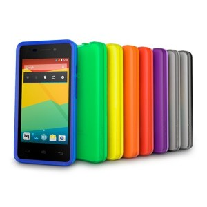 Funda Gummie Cover Aquaris E4