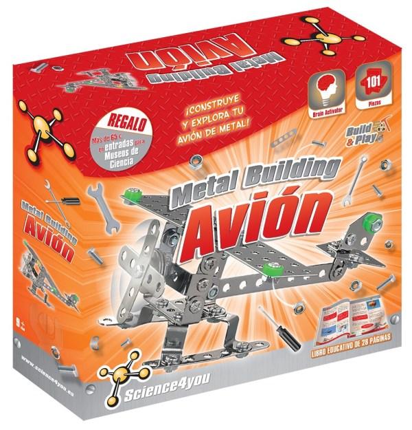 Metal Building - Avión