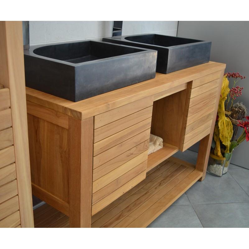 Meuble Sous Vasque Profondeur 38 meuble sous vasque x x cm blanc sensea remix leroy merlin