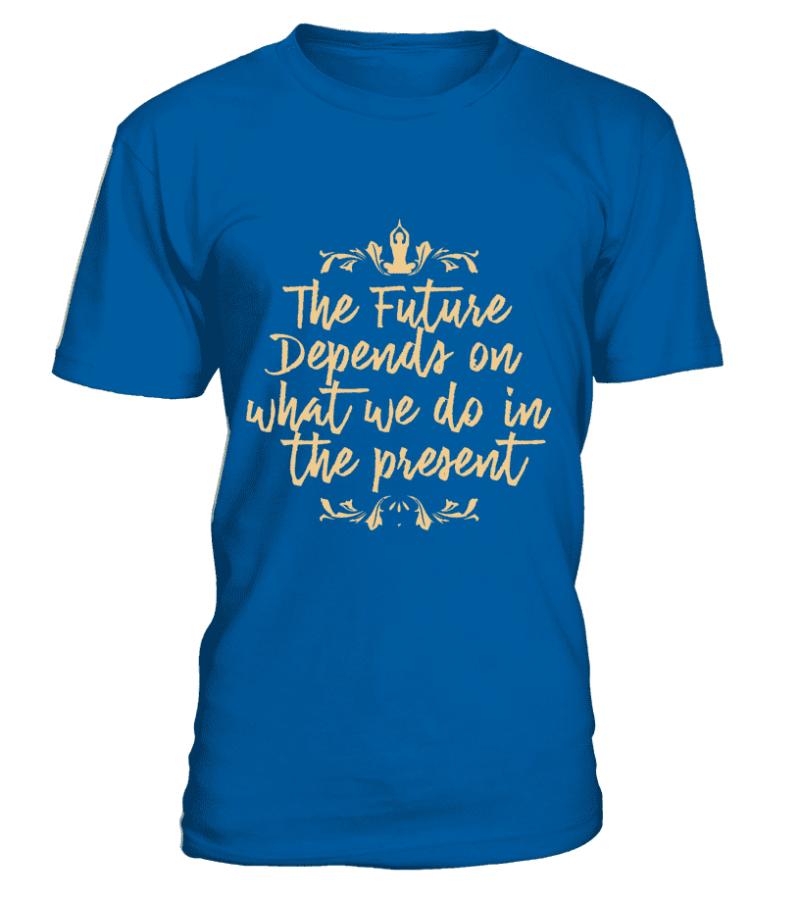 """T Shirt """"The future"""" Pour homme - L'univers-karma"""
