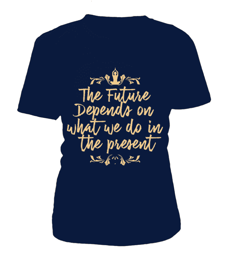 "T Shirt ""The future"" Pour femme - L'univers-karma"