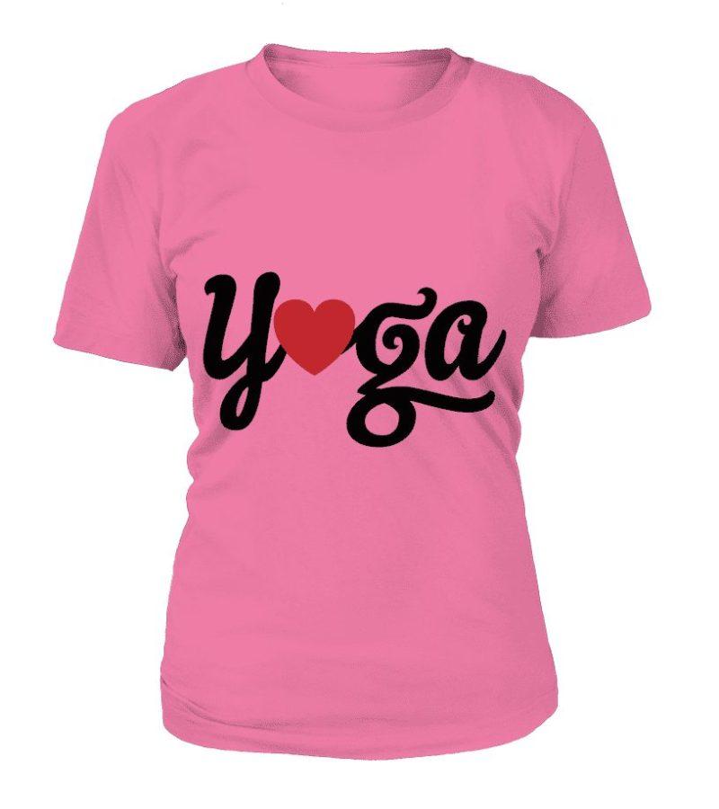 """T Shirt Femme """"Yoga"""" - L'univers-karma"""