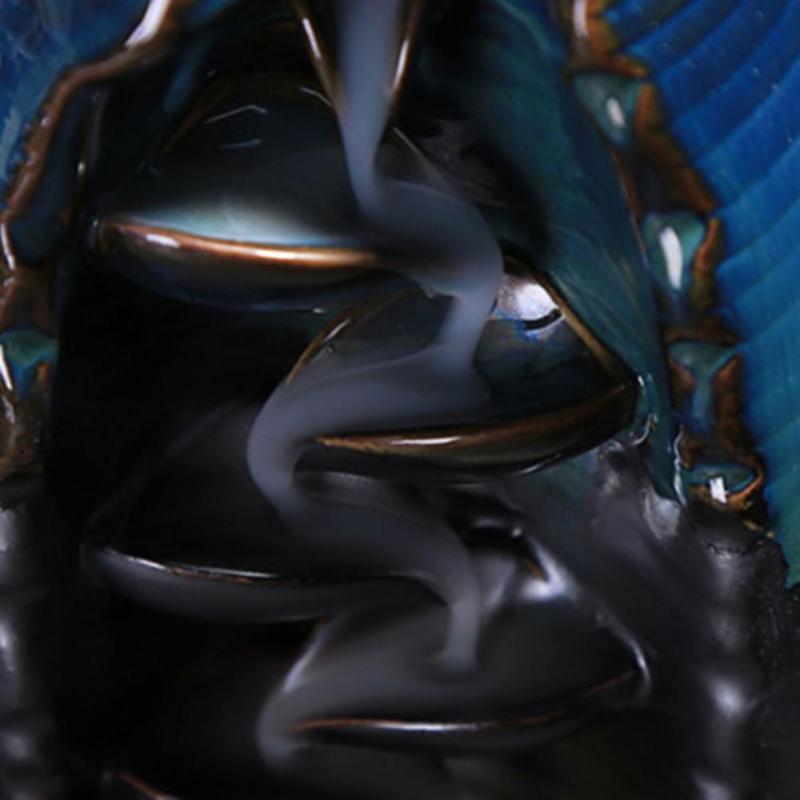 Bruleur encens à refoulement - L'univers-karma