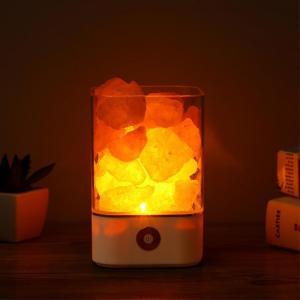Lampe de sel d'himalaya purificatrice d'air - L'univers-karma