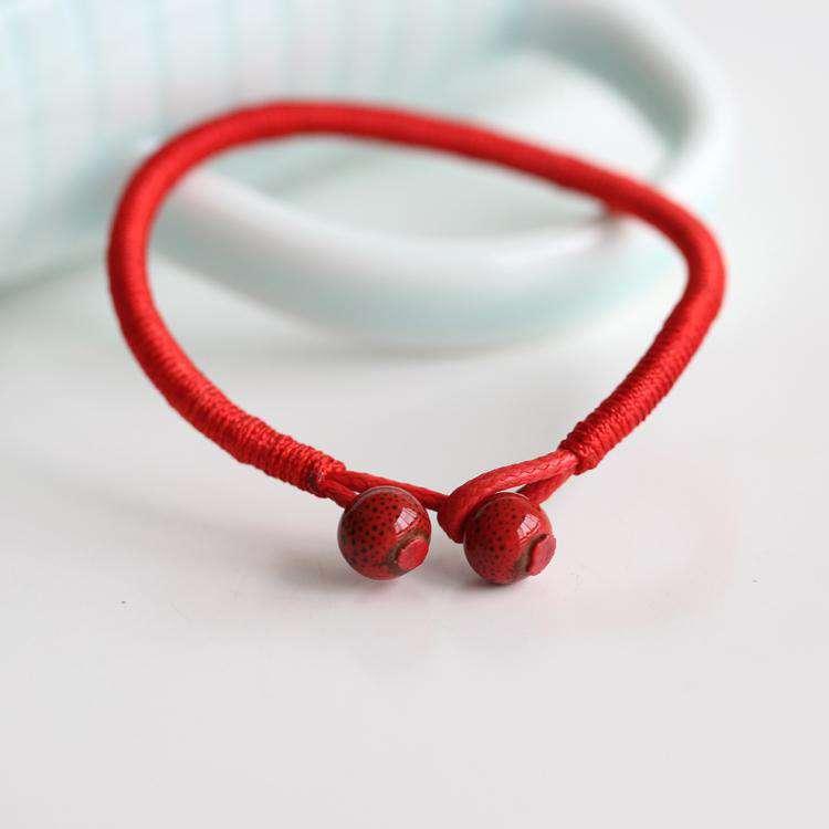 Lot de 2 Bracelets Tibétains Porte Chance Fait Main - L'univers-karma