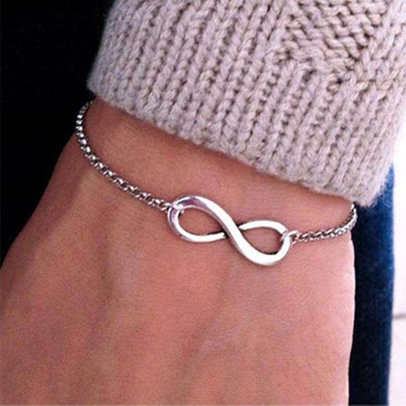 Bracelet Infini Disponible en 2 couleurs - L'univers-karma