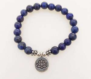 Bracelet de Confiance en Lapis Lazuli - L'univers-karma