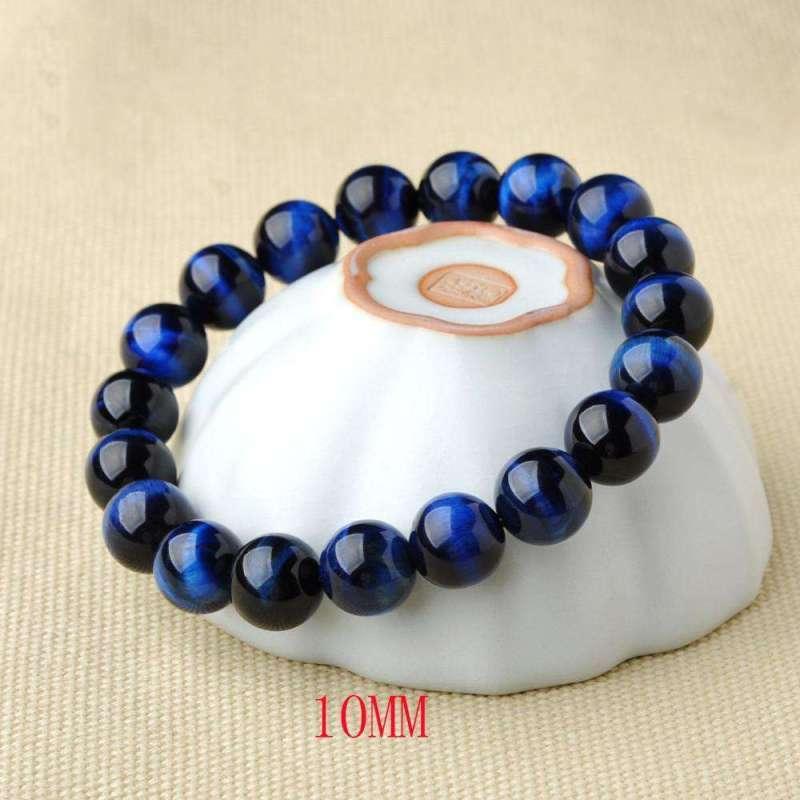 Bracelet de Protection en OEil de Tigre Bleu - L'univers-karma