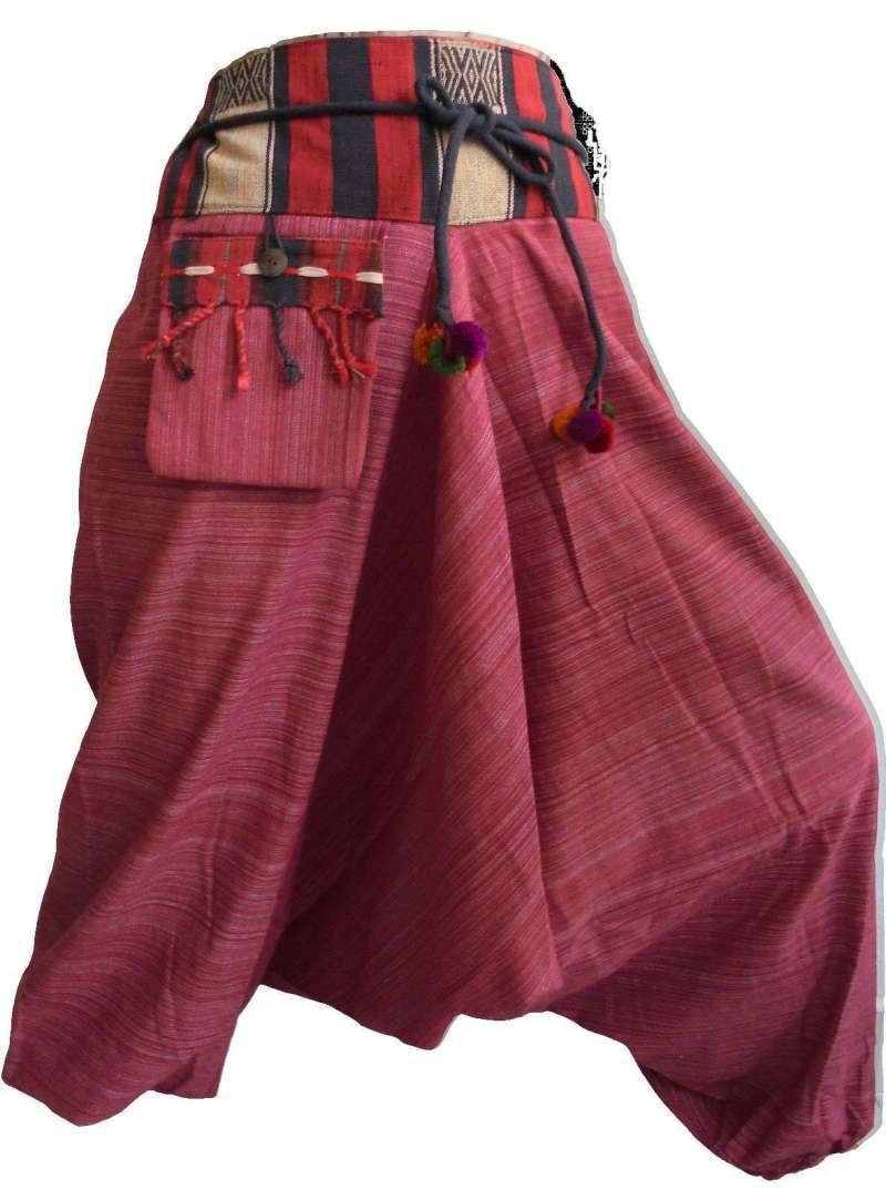 Pantalon Sarouel Pourpre - L'univers-karma