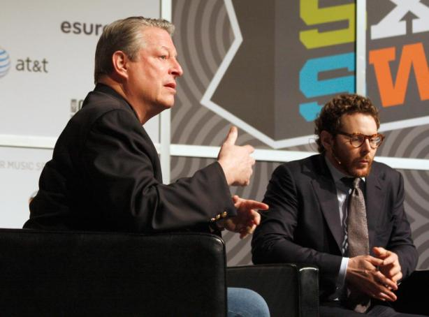 Prominenter Gast der SXSW: Al Gore. (Foto: SXSW.com/Heather Kennedy)