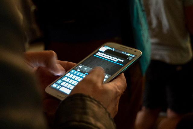 In den USA sind Anteile von über 50 Prozent mobiler Nutzer keine Seltenheit mehr. (Foto: Jakubetz)